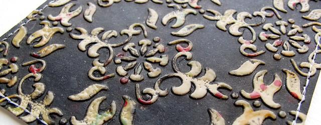 emboss resist texture
