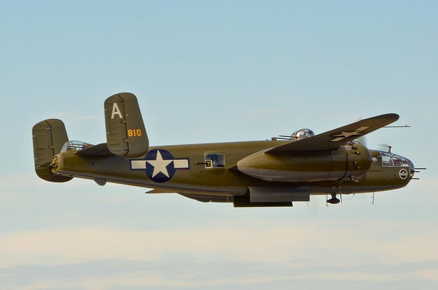 "Heritage Flight Foundations B-25J is that of ""number 810"""