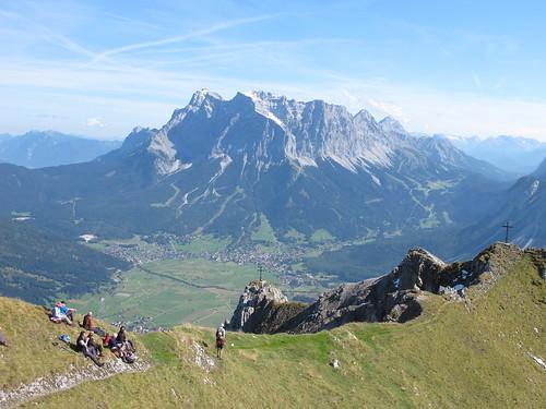 Grubigstein und Zugspitze