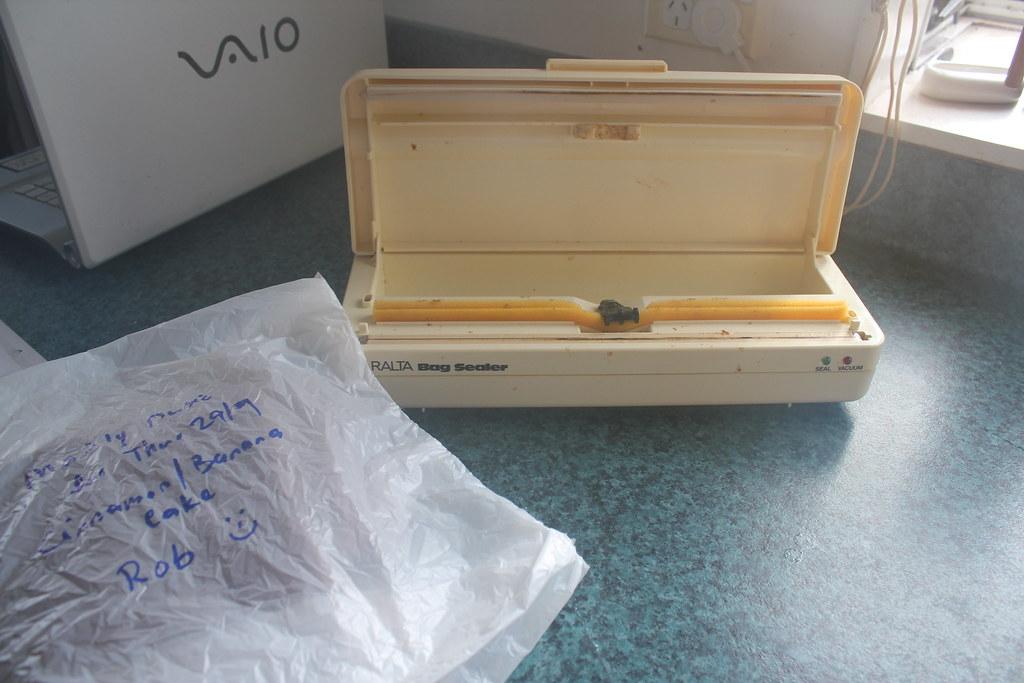 Y2 Day 255, Freezer Bag Sealer