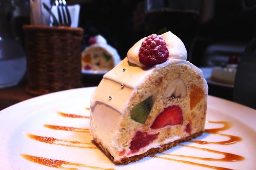 メランジュショートケーキ
