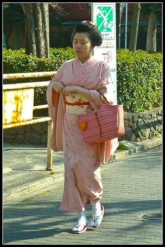 maiko de día (Pontocho)