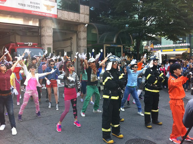 Freaky Firestation Flashmob Filming