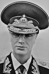 "Admiral ""Jeff"" Solzhenitsyn (Keith_Prefect) Tags: jeff mannequin hat loving star glasses eyes nuclear bunker anchor stare admiral solzhenitsyn hackgreen"