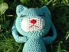 Amineko (jeljenjo) Tags: cat crochet craft amigurumi kätzchen wolle türkis amineko gehäckelt häkelkatze mynameisamineko craftycrochetcat