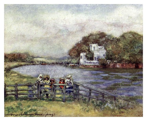 012-Quarry Woods-The Thames-1906- Mortimer Menpes