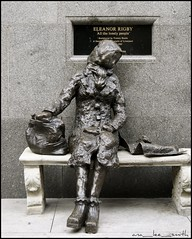 eleanor rigby ..... (ana_lee_smith) Tags: street uk travel england people sculpture tourism statue wall bronze liverpool photography photojournalism signage pedestrians eleanor stanleystreet johnlennon sculptor mathewstreet thebeatles rigby merseyside beatlemania walloffame thecavern tommysteele allthelonelypeople analeesmith photosofliverpool sonyslta33