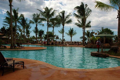 One of the Aulani Pools