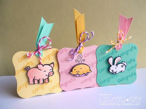Lawn Fawn mini tags