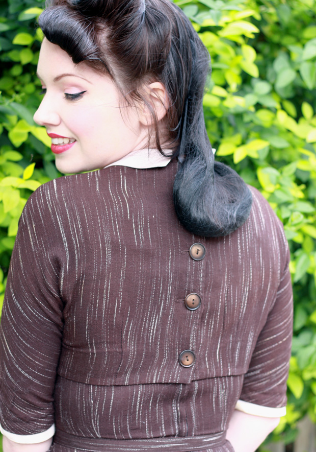 vintage forties dress d
