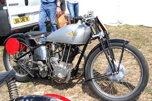 Sarolea Monotube 350cc 1936 ( Fr ) by vintage-revival