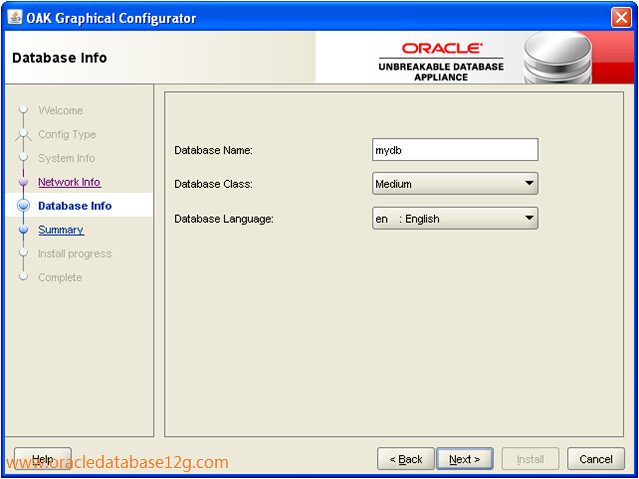 Oracle Appliance Manager Configurator5