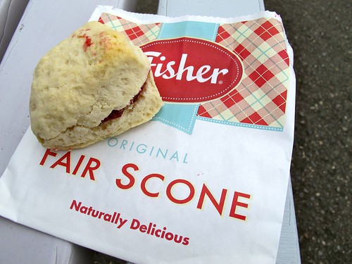 at the fair: fisher scone
