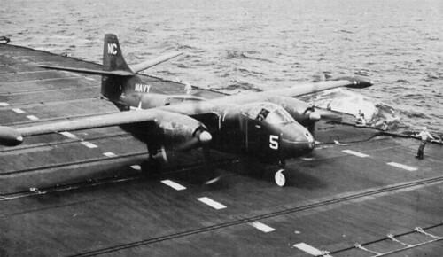 North American AJ-2 VC-8, NC X USS Coral Sea