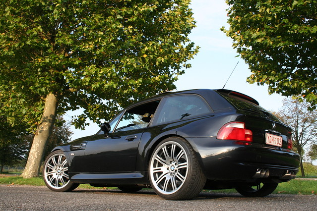 S50B32 BMW Z3 M Coupe | Cosmos Black | Gray/Black | Style 67 Wheels