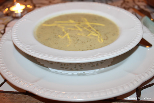 Day 269 - Artichoke soup