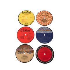 Recycled Vinyl onderzetters (contemporaryheaven3) Tags: recycled vinyl onderzetters