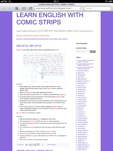 Learn English with Comic Strips