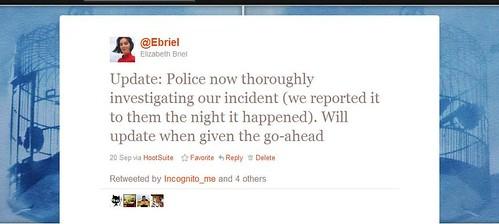 incident update screenshot