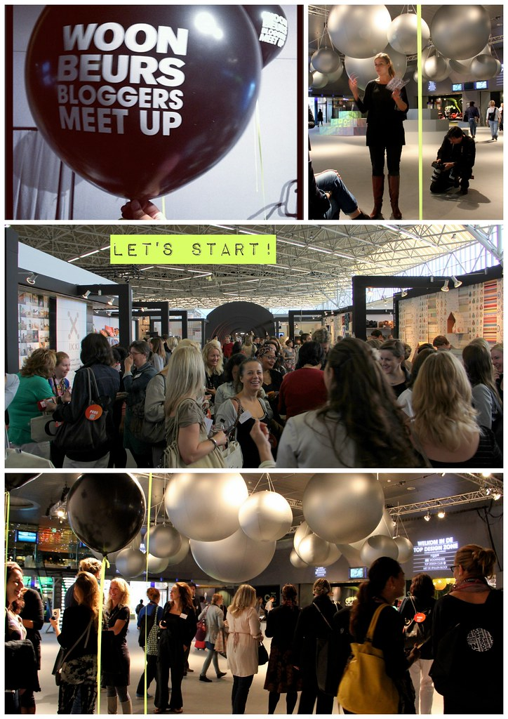 Woonbeurs-bloggers meet up