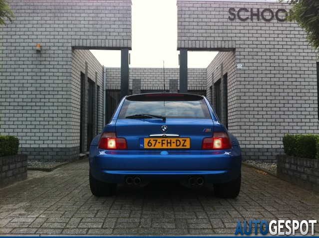 1999 BMW Z3 M Coupe | Estoril Blue | Black | Sunroof Delete