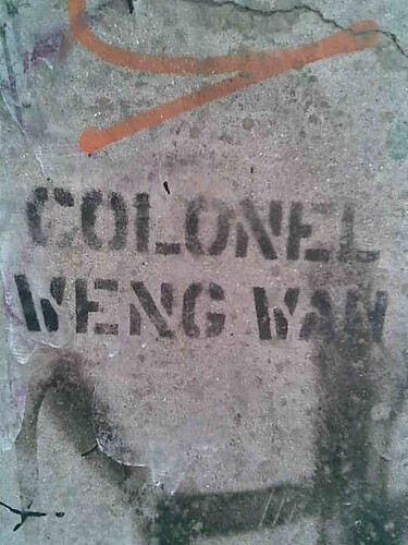 colonel weng wan