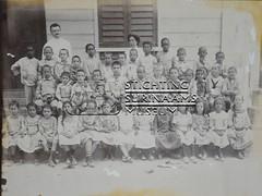 Groepsfoto schoolkinderen