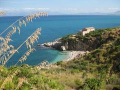 Zingaro (Ziotony) Tags: sea beach nature san mare estate lo sicily capo spiaggia sicilia vito caletta dello zingaro 2011 naturale riserva orientata oasisofsilence supercontest