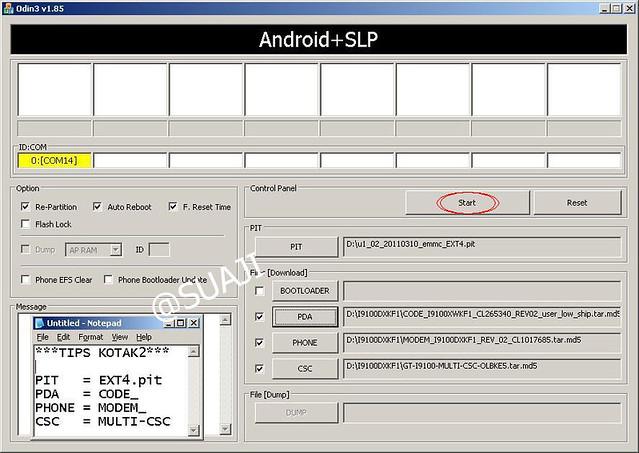samsung vibrant 2.2 download mode
