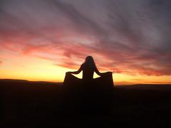 SUNSET HILL (Art Of Morgaine) Tags: sunset witch spirit magic yorkshire hill goddess mystical portal pagan haworth penistone