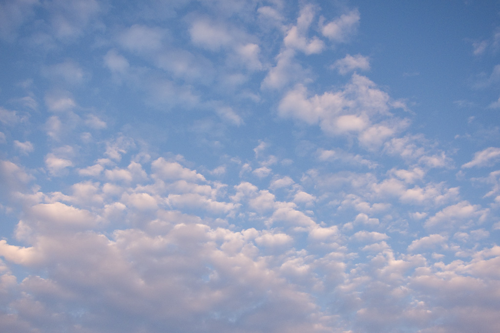Autumn cloud - Cirrocumulus cloud