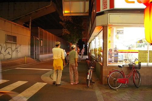 岡山さんと散歩
