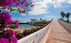 Beachfront at Sands Beach (Sands Beach Lanzarote) Tags: family españa hotel spain lanzarote resort familyfun canaryislands beachfront hoteles islascanarias costateguise sandsbeach