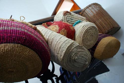 hanging crochet baskets