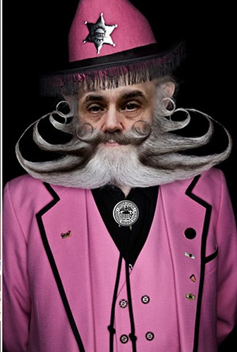 PINK BERNANK by Colonel Flick