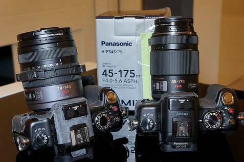 14-140mm & 45-175mm side by side