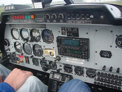 ZK-WKF cockpit/panel (DeeKnow) Tags: robin flying alpha 2160 wac waikatoaeroclub zkwkf alpha2160