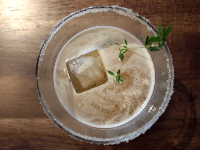 It's about Thyme, Sidecar top
