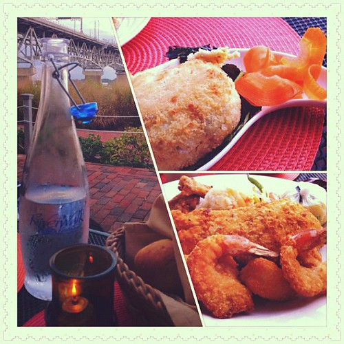 Dinner by the beach, Happy Weekend!  