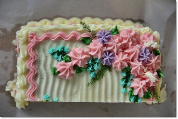 Homemade Creep Cake Birthday Cake