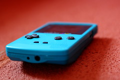 Gameboy Color (FaruSantos) Tags: blue red azul nintendo games vermelho videogames gbc gameboycolor