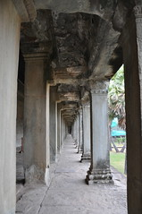 The outer gallery - Angkor Wat