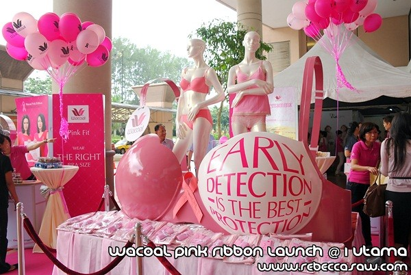 Wacoal Pink Ribbon Launch @1 Utama