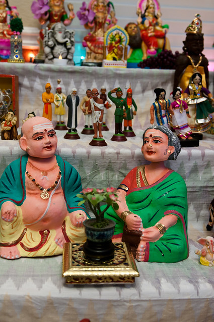 Golu dolls for Navratri