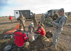 Lots of help (U.S. Army Europe Images) Tags: canada jump military poland parachute multinational usarmyeurope bumgardner 173rdairbornebrigadecombatteam dragon11