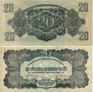20 Pengő Maďarsko 1944, Pick M6