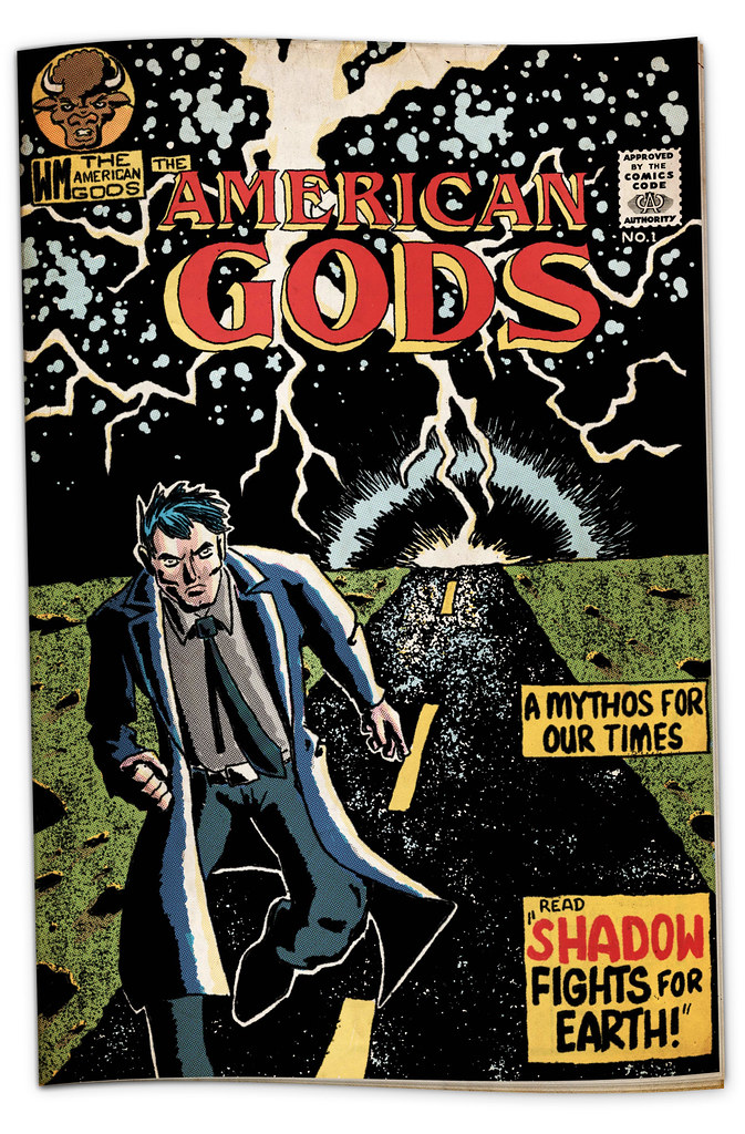 American Gods Comic by Joe D!