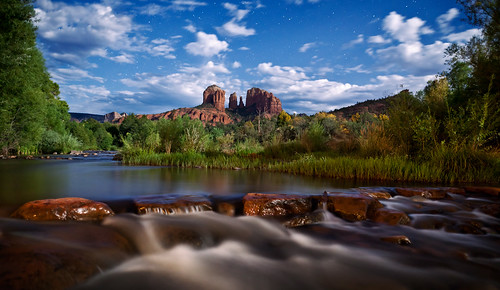 Sedona Full Moon Postcard