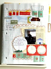 LSNED: Sept 18 (Julie_Kirk) Tags: new scrapbooking notebook day every something learn artjournal laine jounaling shimelle lsned