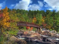 Onaping Bridge (Fall Colors) (Dean Martin (Thirdeyepics)) Tags: simplyred micarttttworldphotographyawards micartttt simplyred4x4 michaelchee